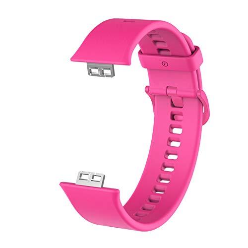 ZAALFC Caso Protector + Correa para Reloj Huawei Fit Relojes Inteligentes Tapa Completa Protector de Pantalla Película Película Pulsera Pulsera Accesorios