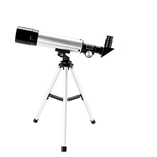 NETXE Land and Sky 90X Zoom Astronomical Moon Refractor Telescope Optical Glass Metal Tube with Tripod, HD Monocular Space Telescope-.