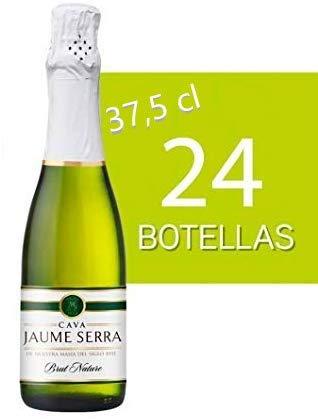 Cava Jaume Serra 37.5 cl para regalar a lo invitados de tu boda (pack 24 unidades)