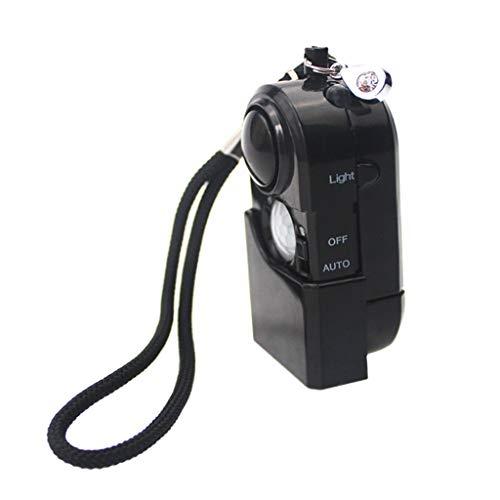non_brand Detector de Movimiento Portátil para Viajes SOS LED Infrarrojos PIR Light para