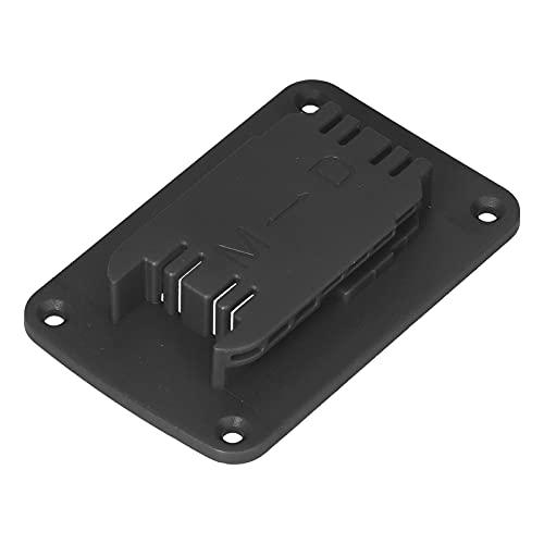 Estante De Almacenamiento De Batería De Litio, Soporte De Herramientas ABS 5 Piezas Estante De Almacenamiento De Baterías para 14.4V 18V 20V DCB Series para M18 18V Tools(Negro)