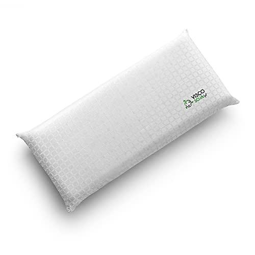 Kuo Dream | Almohada ViscoSoja | Viscoelástica 100% aceite de soja |Suave y transpirable| 90cm