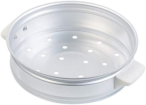 Rosenstein & Söhne Zubehör zu Reiskochtöpfe: Dampfgar-Einsatz aus Aluminium für Reiskocher RK-1000 (Reisgarer)