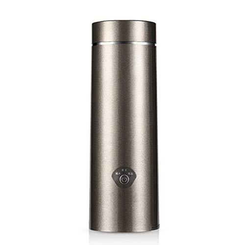 Hothap Koffiezetapparaat met thermoskan, roestvrij staal, mini-waterkoker, warmwaterkoker, roestvrij staal, Travel Thermal Boiler Wie gezeigt grijs