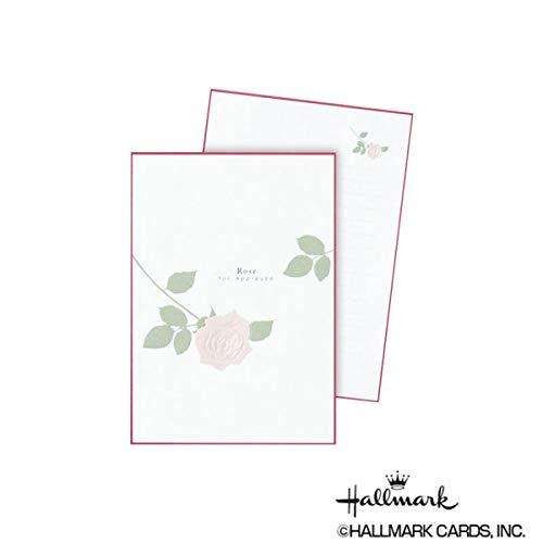 シンプルで上品にデザインしたレターパッド。 Hallmark ホールマーク 便箋 パッドSPローズ 6セット 653835 〈簡易梱包