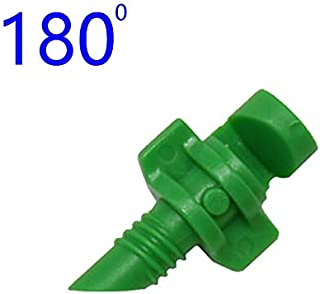 HUAHENG 90/180/360 Degrees Threaded Simple Refraction Nozzle Garden Irrigation Watering Flower Mist Nozzle Connection Spra...