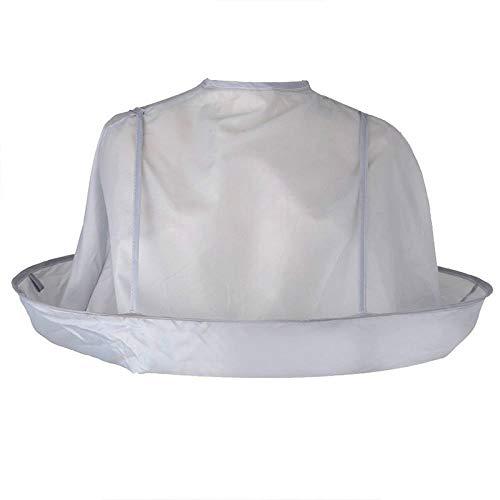 ZGPTX DIY Capa de Corte de Pelo Paraguas Capa de Corte Capa Abrigo Pelo Afeitado Delantal Pelo Vestido de Peluquero Cubierta hogar
