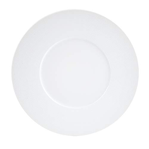 Table Passion - assiette à dessert alinoe striée 23 cm (lot de 6)