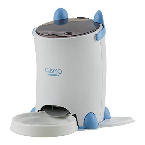 ルスモ 自動給餌器 手動設定 4.3L大容量 自動1日6食まで 5g単位調整