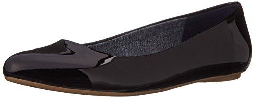 Dr. Scholl's Women's Black Patent Flat Shoes - 8.5 B(M) US