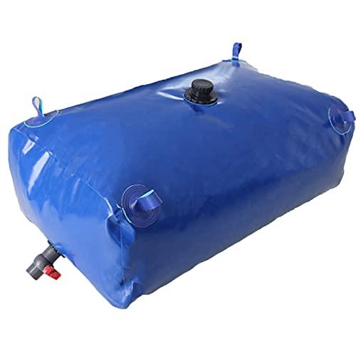 HEcSHENG Bolsa De Almacenamiento De Agua Espesada De Gran Capacidad, Recipiente De Agua De Vejiga De Agua Flexible Plegable A Gran Escala Montada En Un Vehículo,500L