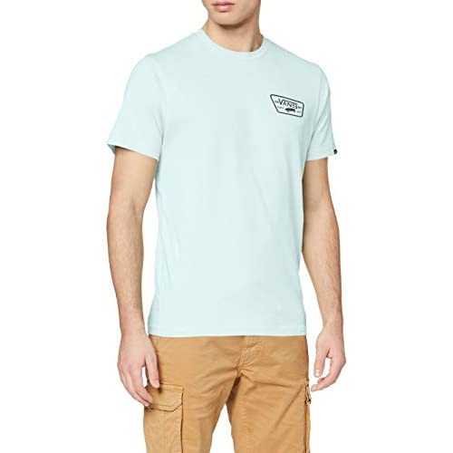 Pepe Jeans Full Patch Back SS T-Shirt, Baia, M Uomo