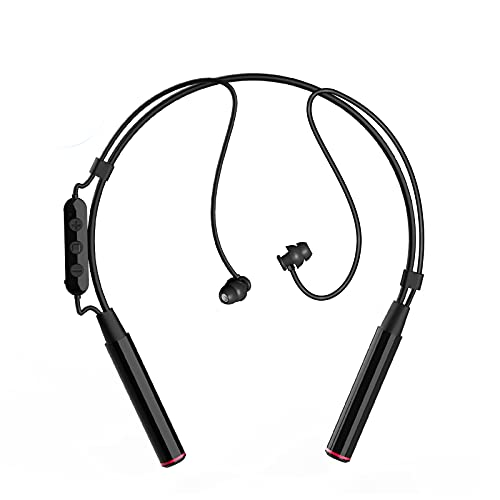 Bluetooth Sleeping Headphones - SICCOO Bluetooth 5.0 Wireless Soft in-Ear Sleep Earbuds, 30 Hours Music Time,Wireless in-Ear Sleep Headsets for Insomnia,Side Sleeper,Snoring - Black