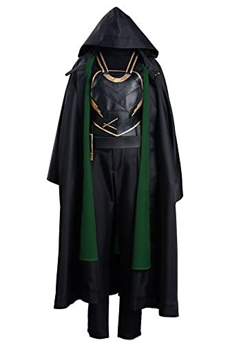 Wasoie Sylvie Loki Laufeyson Odinson Suit Set Halloween Carnaval Cosplay Costume Femme L