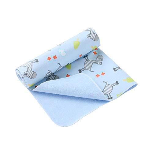 i-baby bambini Pannolini Tappetino lenzuolo per Cambiare Lavabili stoffa Ecologico Fodera tappetino impermeabile cuscinetto urina protezione con imbottitura a tenuta stagna portatile (Bamboo, 50x70cm)