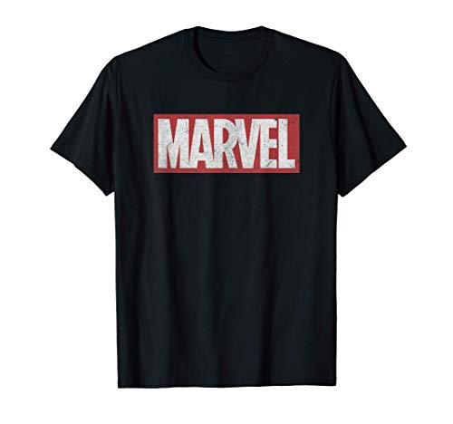 Marvel Classic Distressed Logo Graphic T-Shirt T-Shirt