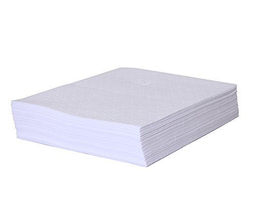 New Pig Oil Absorbing Mat Pad, 50-Count