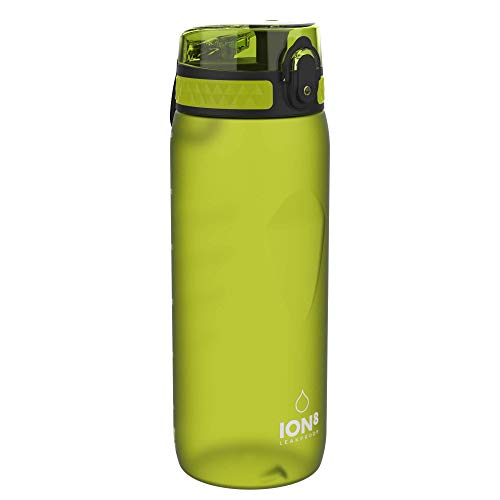 Ion8 Auslaufsichere Trinkflasche Fahrrad, BPA-frei, 750ml, Grün
