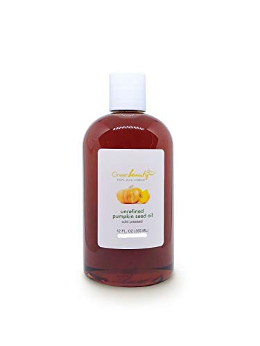 100% PURE ORGANIC CARRIER OILS COLD PRESSED REFINED UNREFINED 4 OZ TO 64 OZ (PUMPKIN SEED OIL 4 OZ)