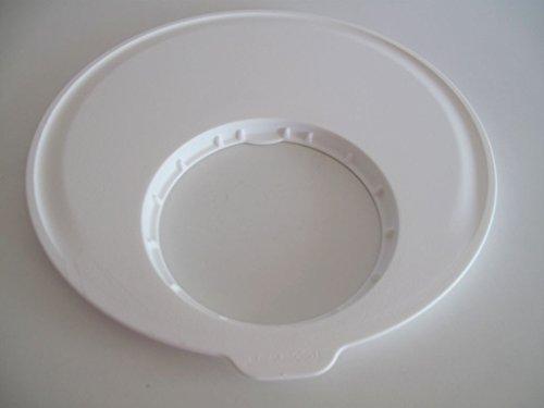 TUPPERWARE D187 insalata-carosello-tagliere Bianco Vitamina Lavainsalata Plus