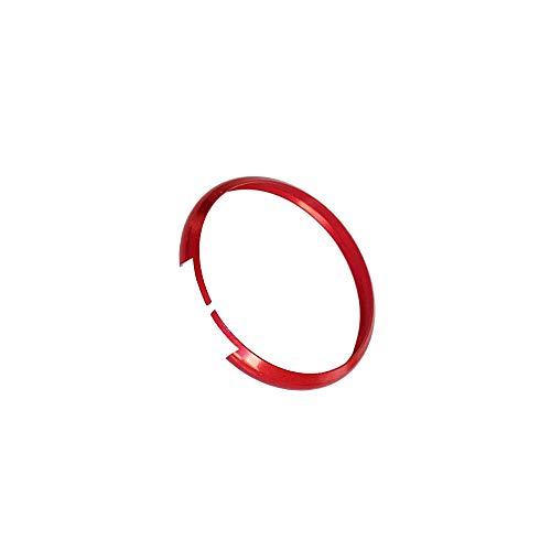 1neiSmartech Anello Decorativo Cover Ring Per Auto Mini Cooper One D S Countryman In Alluminio per Guscio Scocca Telecomando Chiave