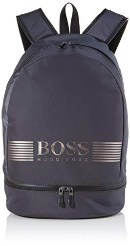 Boss Pixel Ml_backp - Mochila para hombre, color gris oscuro