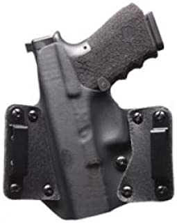 Black Point Tactical 105928 Black Kydex/Leather R/H Wing OWB Holster for P365