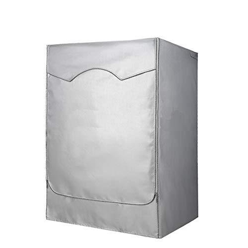Funda para lavadora y secadora, impermeable, antipolvo, antirrayos UV XL blanco
