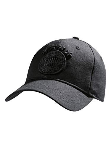 FC Bayern München Baseballcap Black Logo