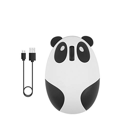 Guizhou Rechargeable Wireless Bluetooth Mouse Cartoon Panda Mice for Laptop Phone Tablet