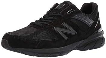 New Balance Men s Made in US 990 V5 Sneaker Black/Black 13