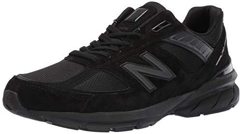 New Balance Zapatillas deportivas hechas para hombre 990 V5, negro (Negro/Negro), 38.5 EU