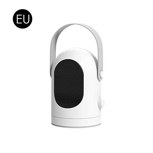 Josietomy - Radiador portátil de cerámica con termostato ajustable, ventilador de calefacción de escritorio mini aire acondicionado eléctrico para oficina en casa