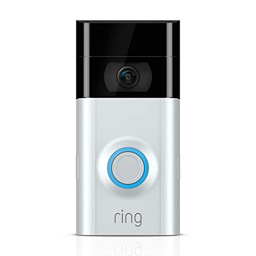 Ring Video Doorbell 2 | Videocitifono in HD a 1080p, comunicazione bidirezionale,...