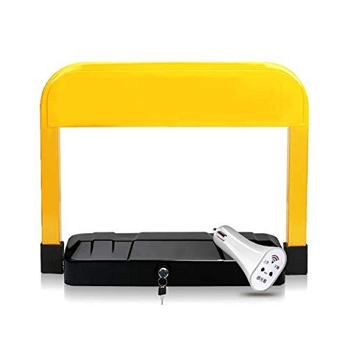 Bloqueo de Estacionamiento, Bolardo Plegable Impermeable de Metales Pesados, Pila de Estacionamiento con Sensor Inteligente con Control Remoto/A / 48×37cm