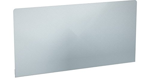 Franke opsteekbare achterwand voor wandgootsteen van roestvrij staal met consoles