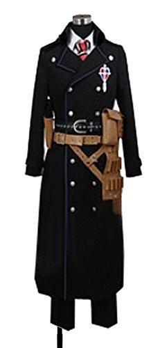 Dreamcosplay Anime Blue Exorcist Yukio Okumura Black Uniform Cosplay