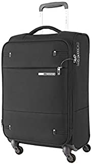 Samsonite 109255 Base Boost 2 Spinner Expandable Suitcase, Black, 55 Centimeters