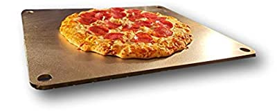 """OG Pizza Steel - High Performance Pizza Steel Stone Baking Surface Made in the USA - 16"""" x 14.25"""" (.25"""" Thick)"""