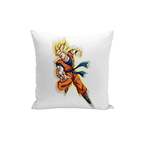 Fabulous Funda de Cojín Dragon Ball Super Son ataques de Goku Super Saiyan - Anime Manga Japón 40x40cm