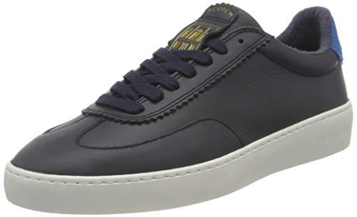 SCOTCH & SODA FOOTWEAR Plakka Sneaker, Zapatillas Hombre, Marine, 41 EU