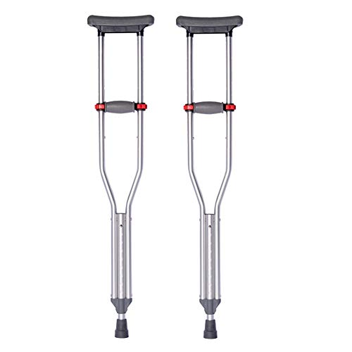 crutch Achselkrücken, alte Leute, zusammenklappbarer Gehstock, höhenverstellbarer medizinischer Anti-Rutsch-Gehstock