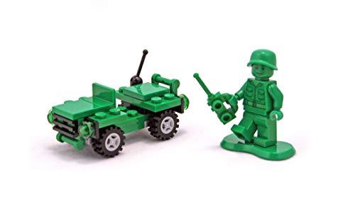 LEGO 30071 Toy Story 3 - Soldado con Jeep, Color Verde