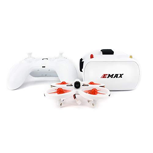 FairOnly Drone da corsa FPV per principianti pilota Emax EZ con telecamera CMOS 600TVL 37CH 25mW RC Quadcopter RTF giocattoli
