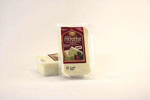 Bio Paneer (Panir) Käse Natur 6er Set à 200g Vegetarisch Organic, frei von Konservierungsstoffen oder künstlichen Aromen 100 % aus Bio-Milch,