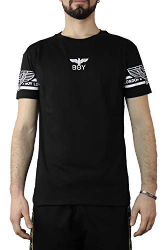 BOY LONDON - T-Shirt MC col Nero BLU6583