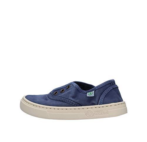Natural World 6470E Sneaker Blu da Bambino 6470E-628