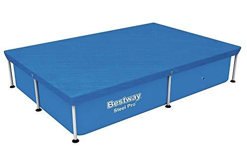 Bestway - Power Steel - Bâche pour piscine, couverture, 304 x 205 cm