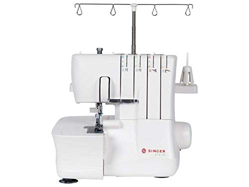Singer S14-78 Overlock-Nähmaschine, 12 Sticharten, Differentialtransport