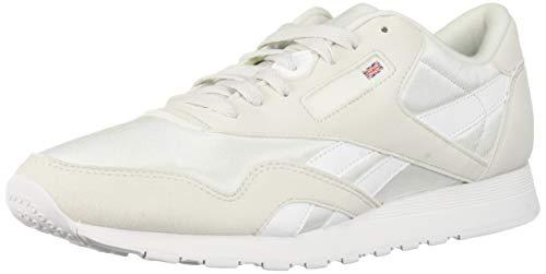 Reebok Classic Nylon Sneaker True Grey/White 7.5 M US